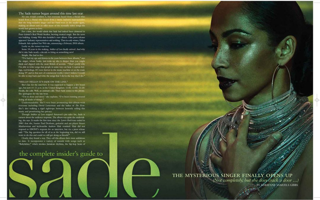 The Complete Insider's Guide to Sade