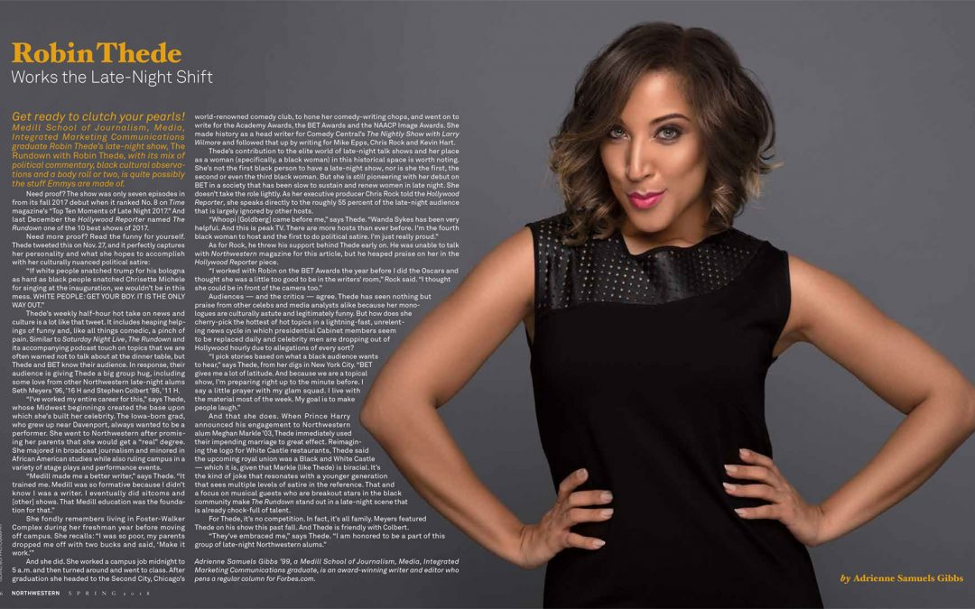 Robin Thede Works the Late-Night Shift