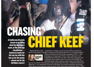 Chasing Chief Keef